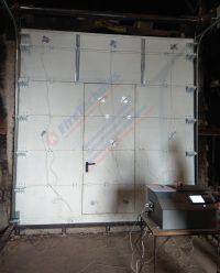 Испытания, Секционные противопожарные ворота FireTechnics FT-S EI60